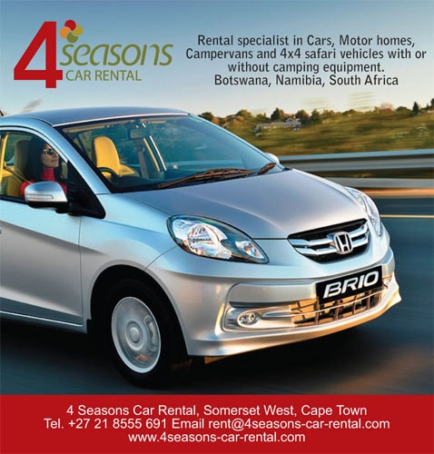 4 Seasons Car Rental, Stellenbosch, Somerset West, South-Africa