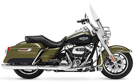 Motorcycle rental Cape Town - Johannesburg Harley-Davidson Road King
