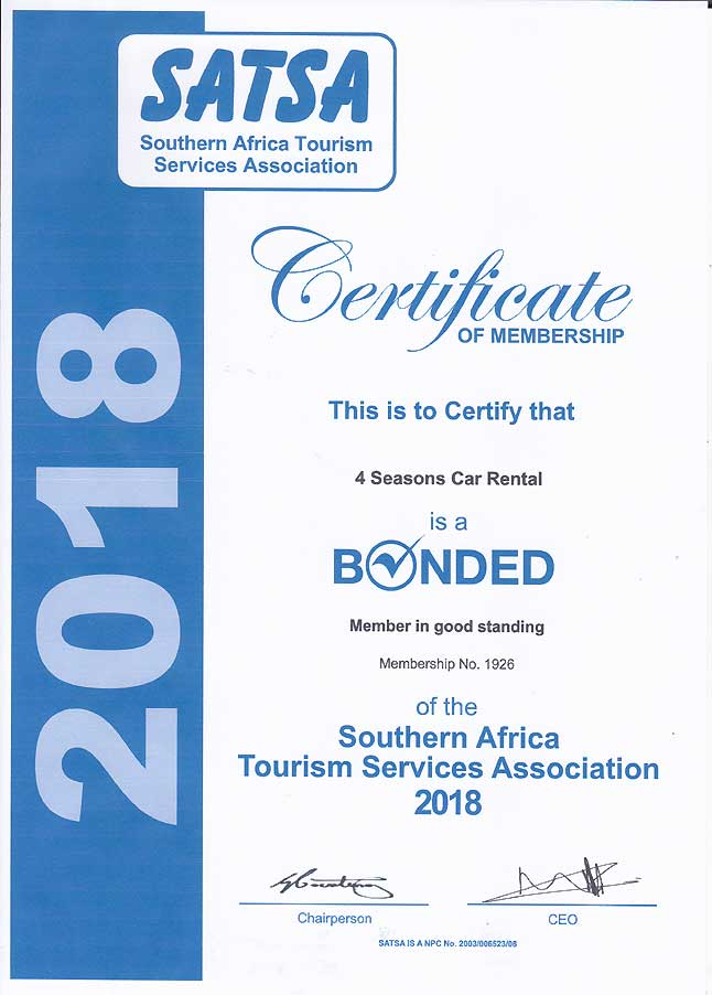 Southern Africa Tourism Services Association 2018
