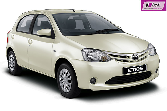 RENT THIS FIRST CAR TOYOTA ETIOS AT 4 SEASONS CAR RENTAL ONLINE